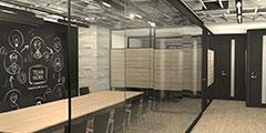 オフィスのレイアウト設計、施工
