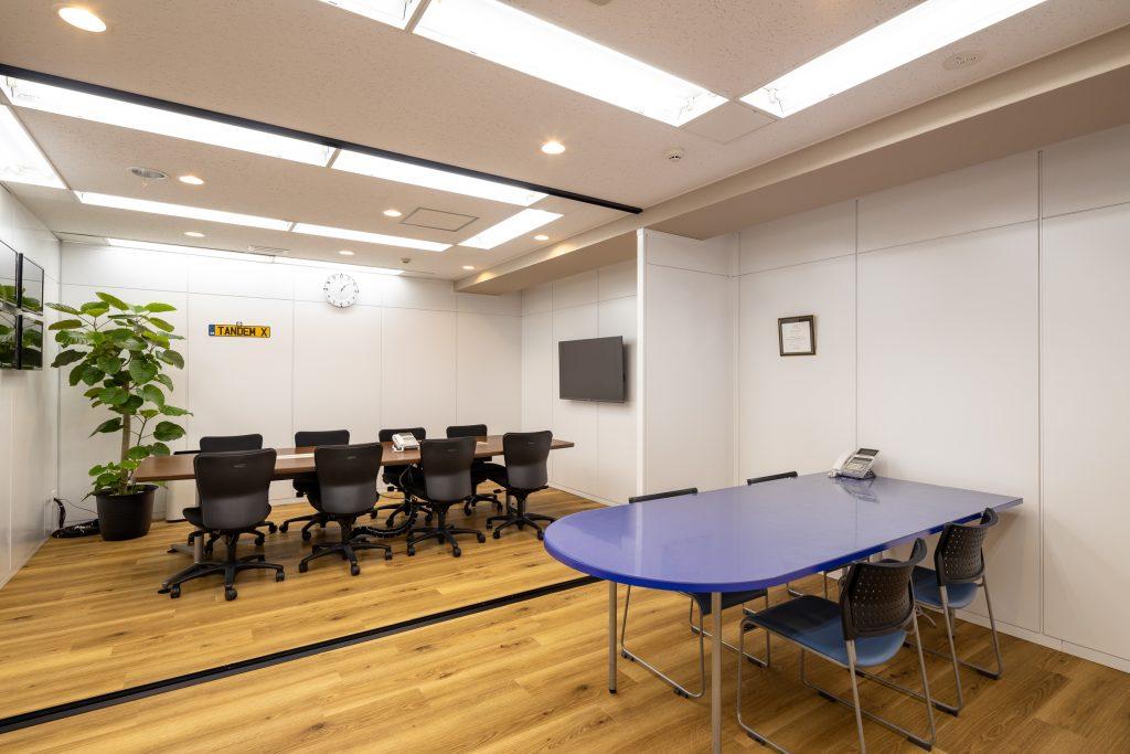 オフィスデザイン事例 タンデムクロス株式会社様 会議室